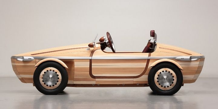 Встречайте необыкновенную новинку – полностью деревянная Toyota!