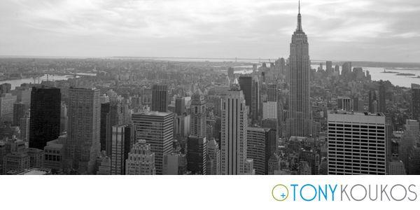 New York, NYC, skyline, Empire State Building, Tony Koukos, Koukos