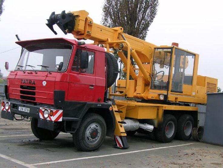 Tatra T815 Excavator truck