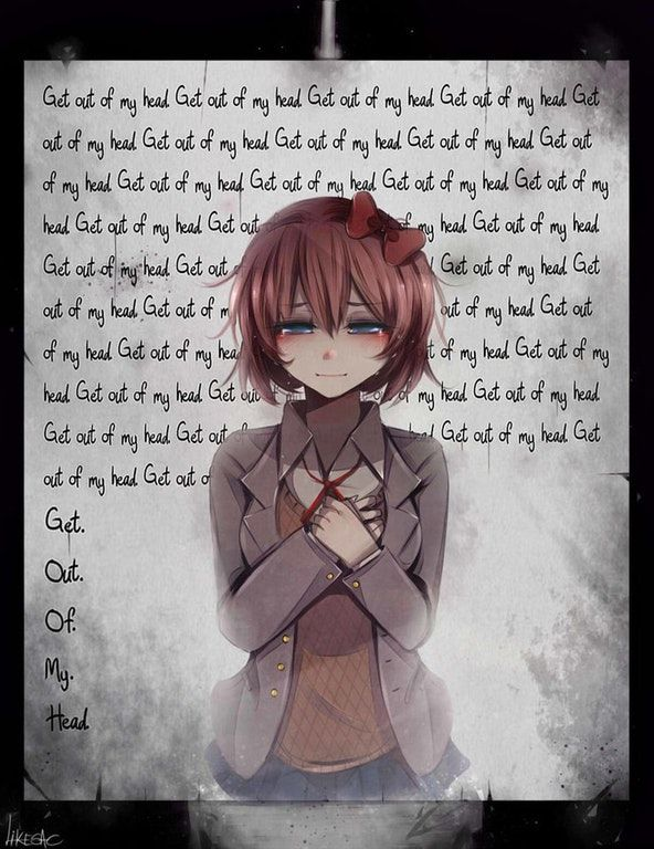 Get out of my head. : DDLC