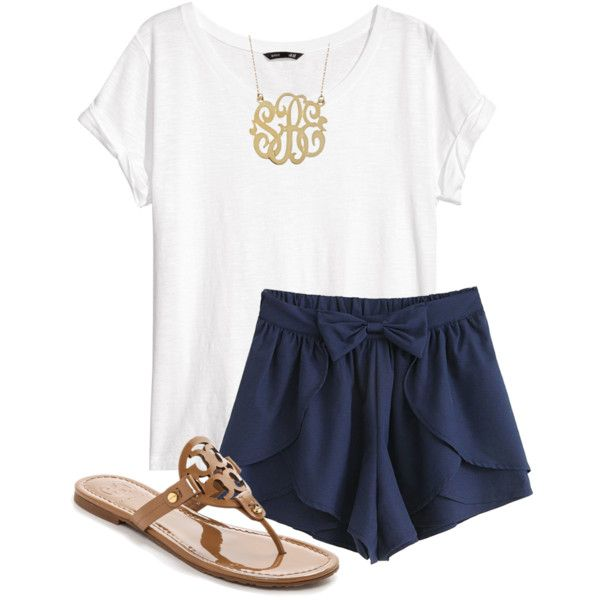 """summer nights"" by carolina-prepster on Polyvore"