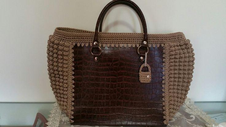 "Borsa ""Mary""/Crochet Bag/borsa uncinetto/Mary Bag"