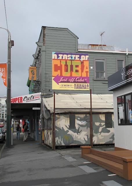 Fidel`s, Cuba Street, Wellington.