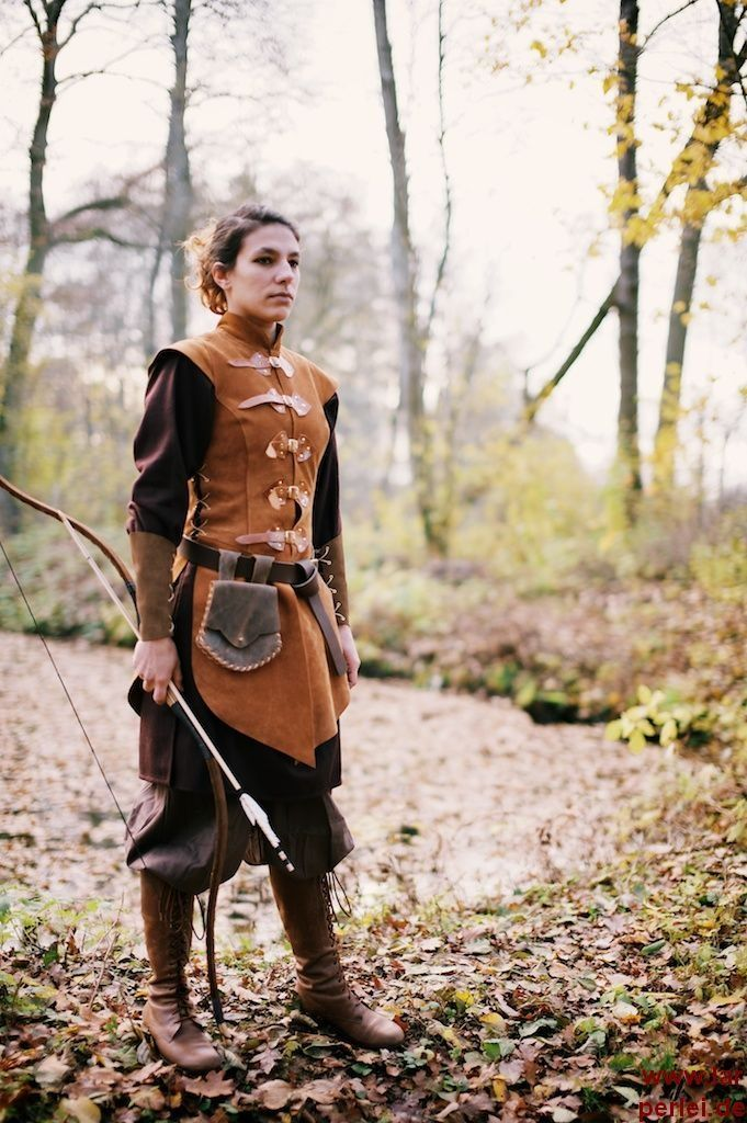 Tabbard for women made of leather - My first thought is, Well, what if you're NOT a woman made of leather?