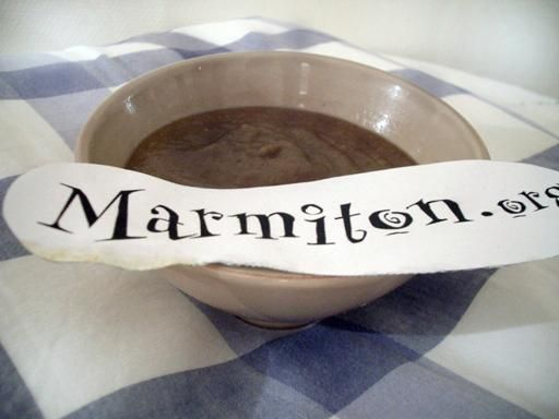Soupe aux lentilles corail - Recette de cuisine Marmiton : une recette