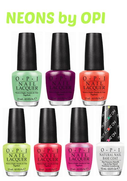 The Neons by OPI Collection for summer