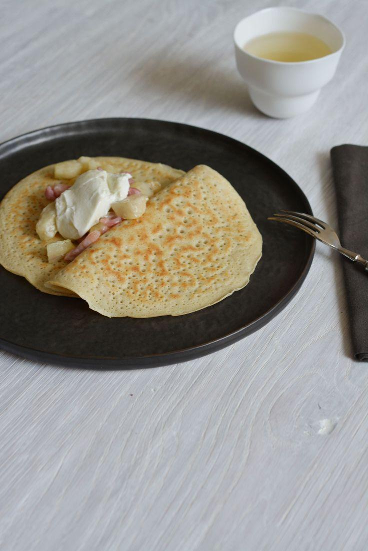 Boekweit - spelt  pannenkoeken