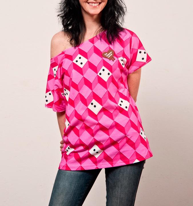 "I´m Choco-late (T-Shirt Carol Moon ""Five"")"