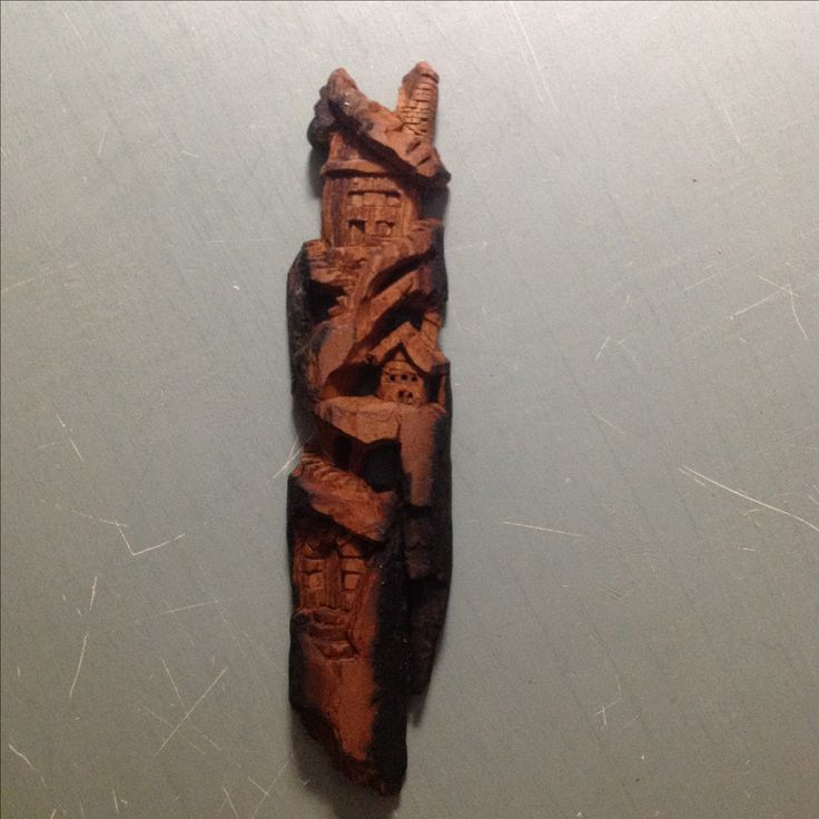 Images about carving cottonwood bark projects on