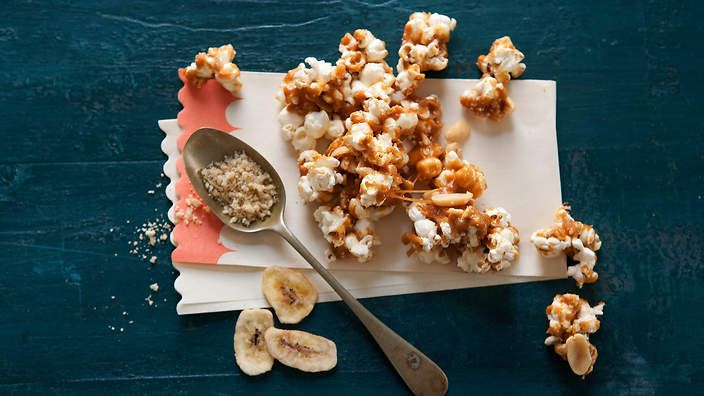 Banoffee popcorn crunch recipe : SBS Food