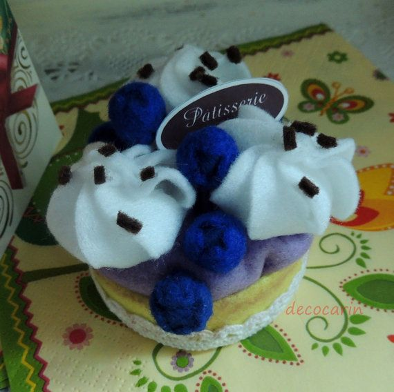 Cibo pronto regalo torta di feltro feltro childrens di decocarin