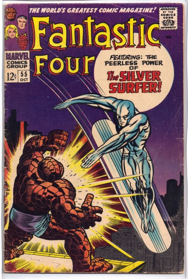 marvel silver age comic book covers | Silver Age Marvel Comics