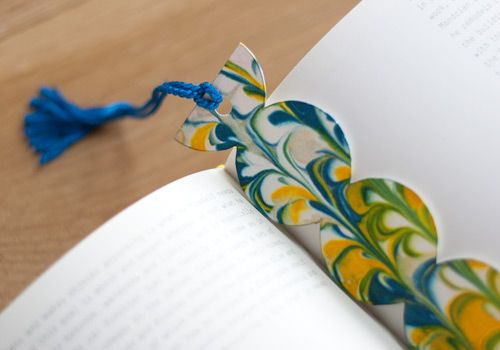 100 best images about bricolage f te des p res on for Cool ways to make bookmarks