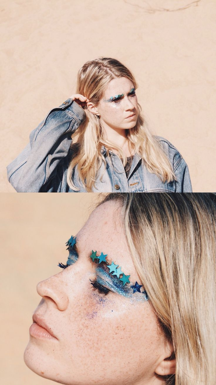 GALACTIC WASTELAND | Photography / fashion / creative concept / glitter art by The Honest Jones & Emma Pitman