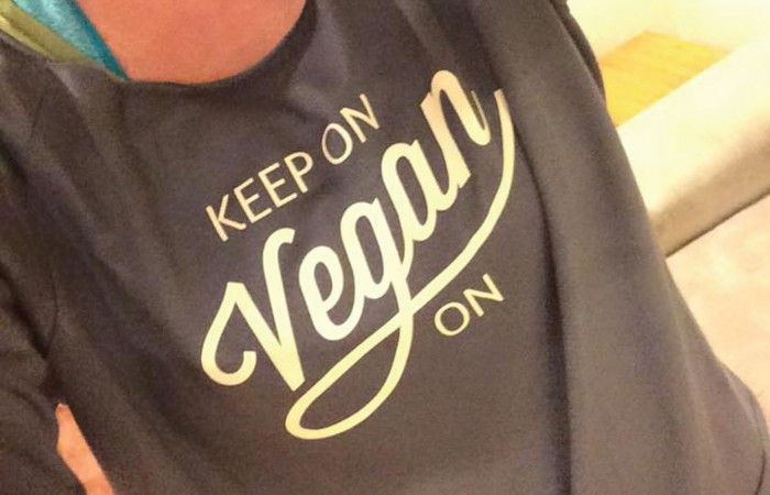 #clientlove   Keep On Vegan On (Champaign, IL) is a personal project I created to help raise awareness in general, but more importantly, to help raise money for Uplands PEAK Sanctuary in Salem, IN. They just rescued their *first* calf, Vegan, and he has a lot of medical expenses — so 100% of the KOVO profits goes to PEAK until this little calf's medical expenses are paid off!