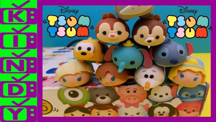Tsum Tsum. Elsa, Anna & Olaf from Frozen. Pluto & Dumbo and lot's more. ...