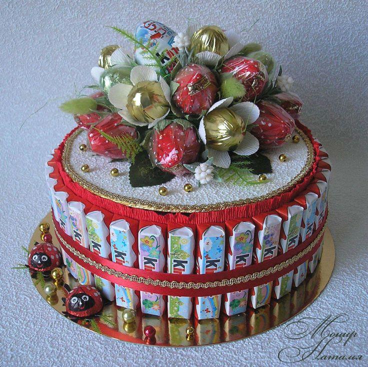 Gallery.ru / Фото #131 - Тортики из конфет - monier