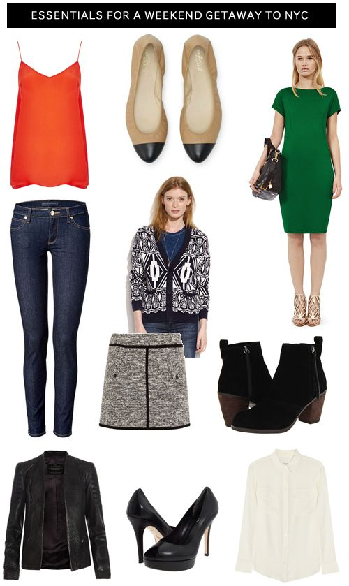 ASK THE STYLIST-The Essentials for a weekend getaway to NYC   STYLE'N