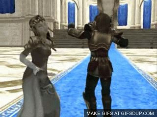 Link and Zelda dancin' (gif)  I just don't even know <- I don't either......but it's PERFECT <--ladies and gentlemen, the Zelda fandom.