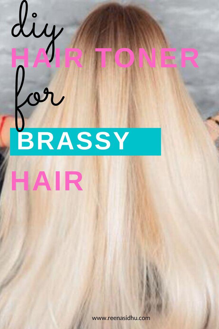 Diy hair toner for brassy hair hair toner brassy hair