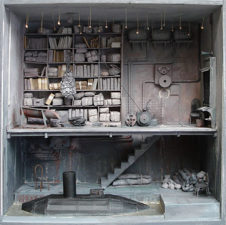 In elementary school, these eerie dioramas would've won you a trip to the child psychiatrist 3