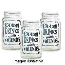 vasos hechos con frascos - Buscar con Google
