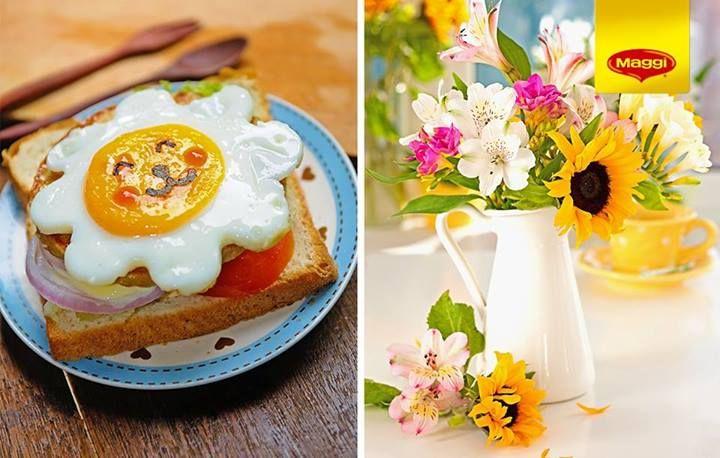 Mic dejun cu soare // Sunny b reakfast -> www.facebook.com/MAGGI.Romania