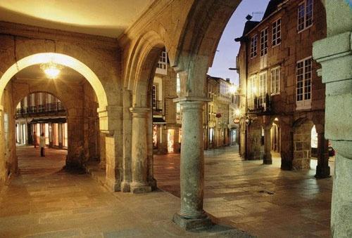 Santago de Compostela, Galicia