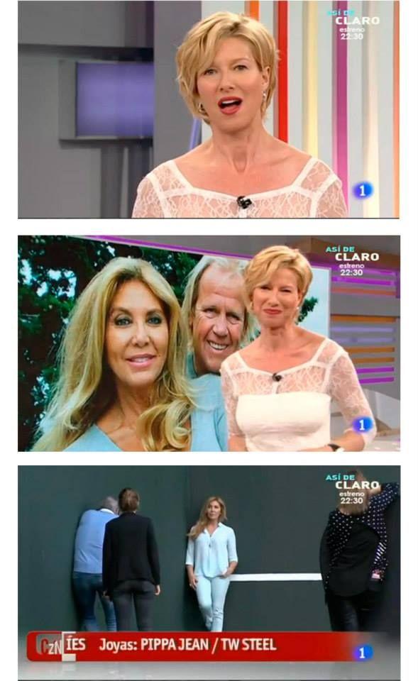 """¡Estamos muy contentos con nuestras apariciones en el programa """"Corazón De"""" de TVE! ¡A Anne Igartiburu le sientan fenomenal nuestras joyas! #moda #modamujer #prensa #joyas #bisuteria #pippajeans #pippaandjeans #revista #periodico #tv"""