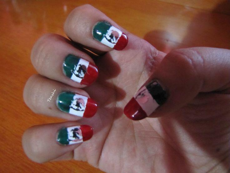 110 mejores imágenes de Flag Nails - Uñas con banderas en Pinterest ...