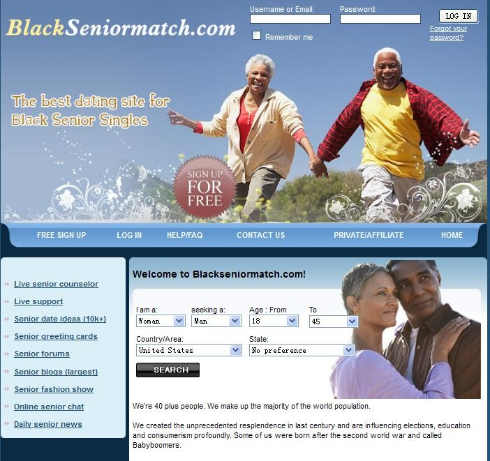 Senior dating 50 plus club