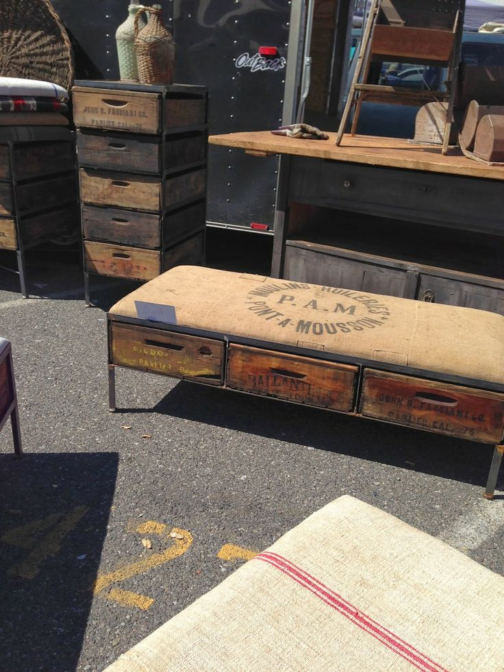 greige: interior design ideas and inspiration for the transitional home : Long Beach Flea Market...