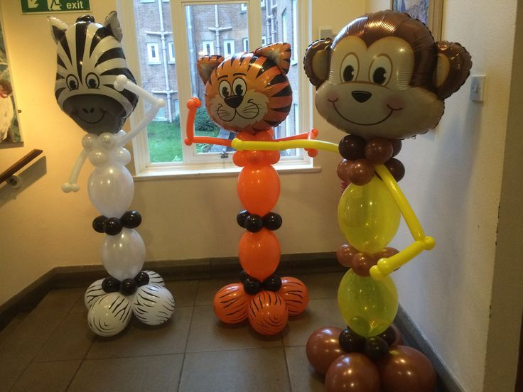 1308 best cool stuff images on pinterest balloon for Animal party decoration