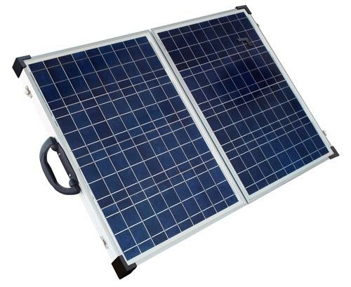 Solarland SLP080F-12S 80W 12V Portable Solar Charging Kit - Foldable