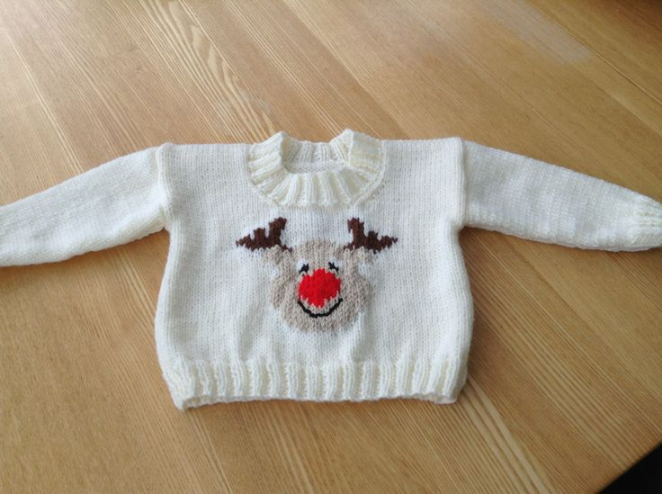 Christmas jumper for Isla (front)