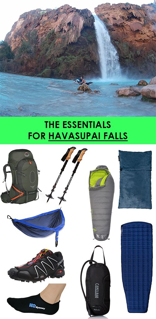 Going to Havasupai? Check out what you need and what you need to make your trip successful!