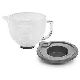 KitchenAid K5GBF Tilt-Head Mixer Frosted Glass Bowl 5 Quart $69.99