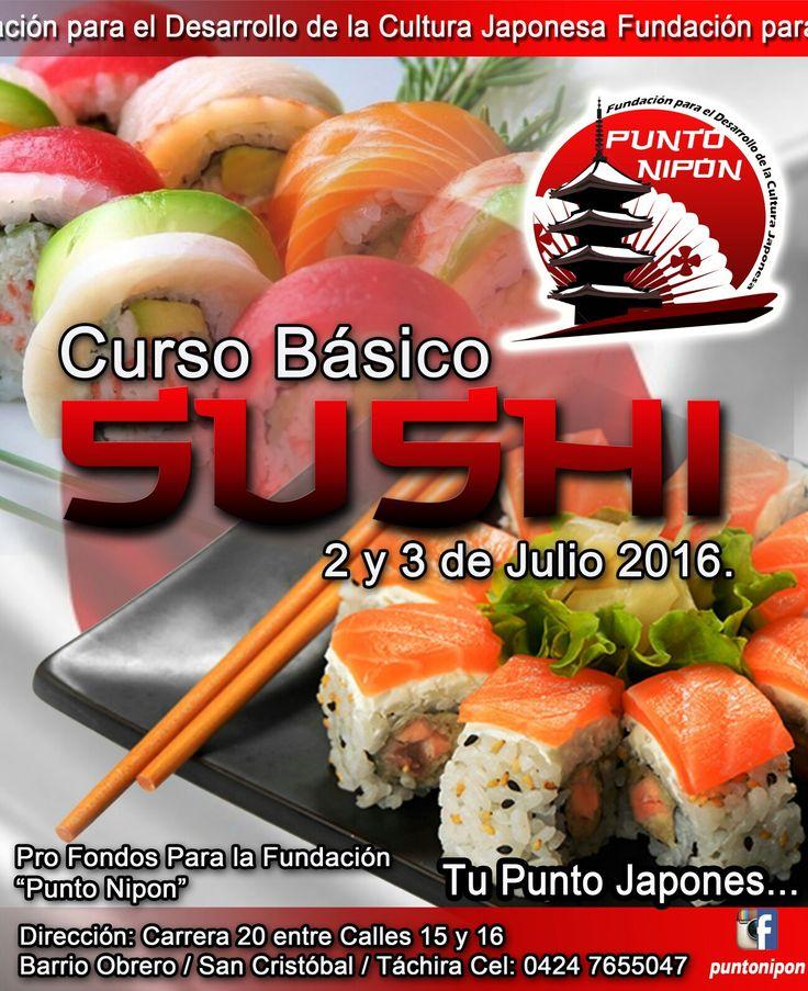 Curso sushi