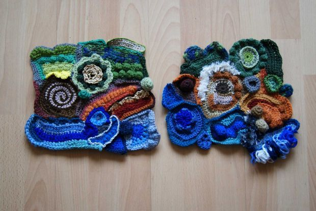 Picture of What is freeform crochet?