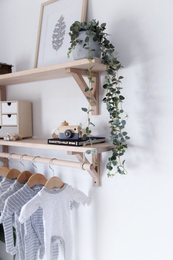 wooden clothes rack with shelf timber clothes rack