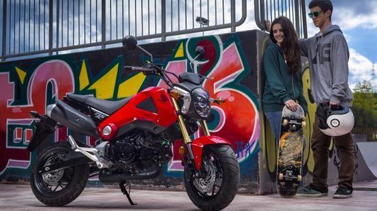 Marktüberblick 125 ccm-Leichtkrafträder - 16 müsste man nochmal sein Quelle: Honda