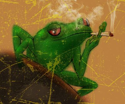 Always Creative: Smoking Frog