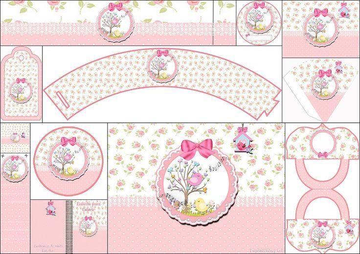 birds-free-printable-kit-in-pink1.jpg (768×543)