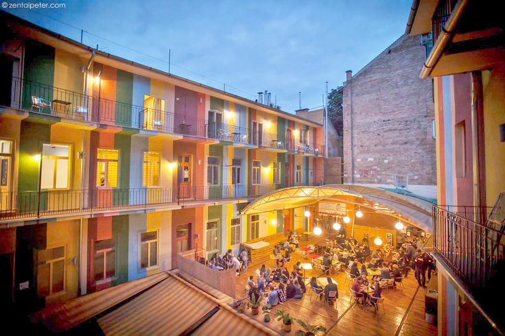 An awesome and colorful cheap hostel in Budapest, up to 100 guests! Check us out :)