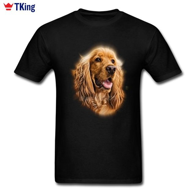 Promotion price 2017 Hot Top Cocker Spaniel GN Men's T-shirt Swag Cotton Big Size Short Sleeve Cute Dog 3d T Shirt just only $12.10 with free shipping worldwide  #tshirtsformen Plese click on picture to see our special price for you