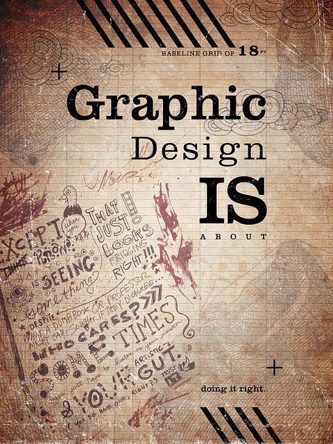 graphic design is...