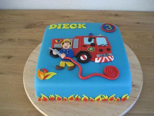 brandweerman sam taart - Google zoeken