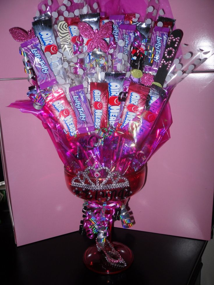 Now that's a candy bouquet #impressive
