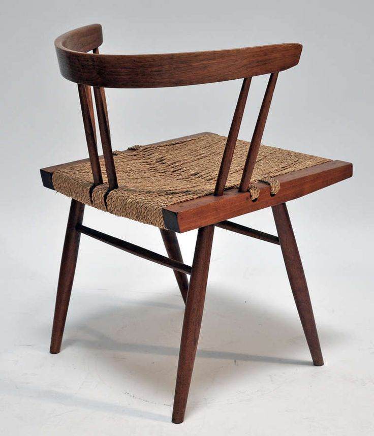 Four Grass Seated Chairs George Nakashima Antiques