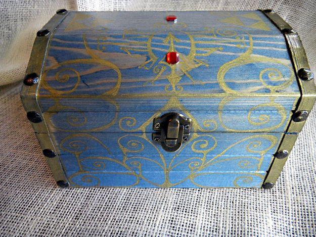 Boss Key Musical Box | 10 Geektastic Legend Of Zelda Crafts Now On Etsy